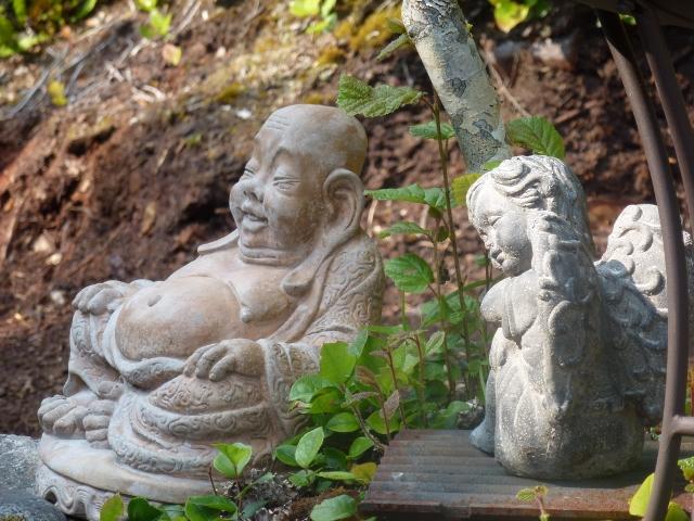 Buddha & Angel