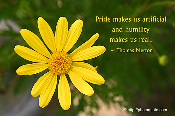 large merton quote pride & humility