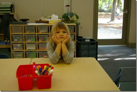 Emma at Kindergarten
