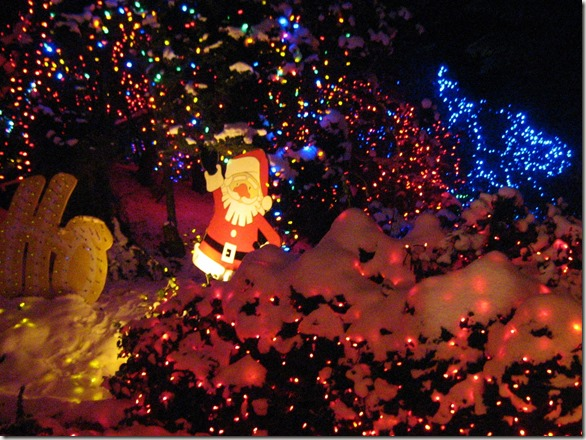 Stanley Park Christmas Train, Vancouver BC