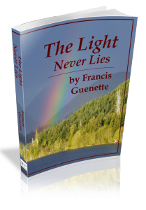 The Light Never Lies - 3-D bookcover