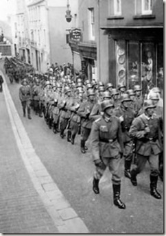 German troops arrive in 1940