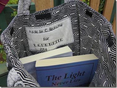 Inside Book Bag - Guenette