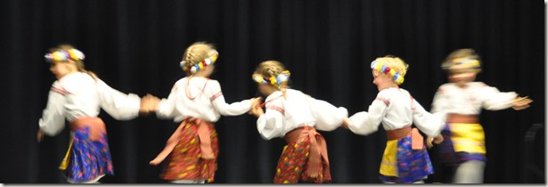 Ukrainian dance kids - Bruce Witzel photo