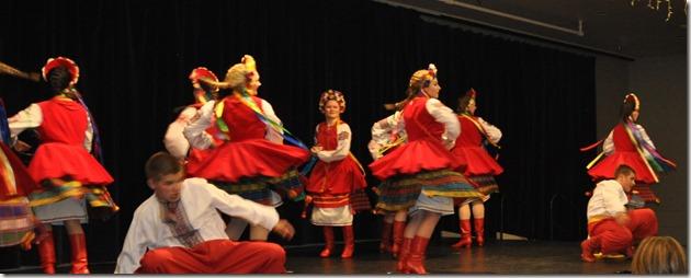 Ukrainian dancers - Bruce Witzel photo