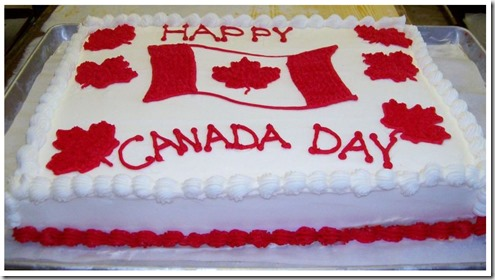 Canada Day Cake - google images