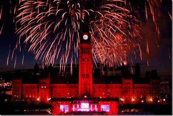 Canada Day fireworks in Ottawa 2 - google images