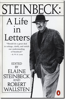 Steinbeck - A Life in Letters cover