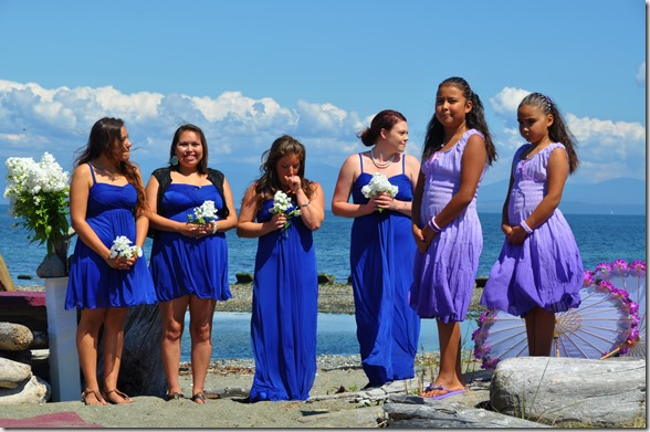 Bridesmaids & flower girls - Bruce Witzel photo