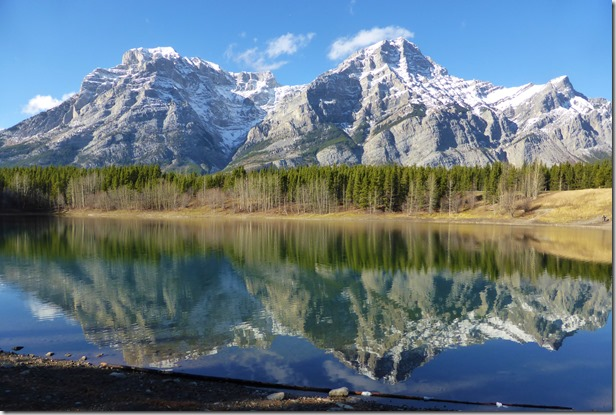 Wedge Pond in Kananaskis Country