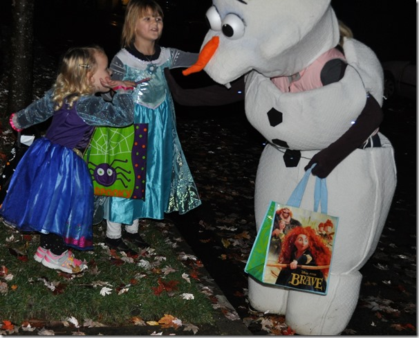 Elsa & Anna find their Olaf - Witzel photo