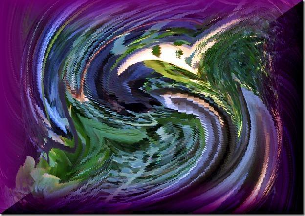 Violet!oilmultiplex - Bruce Witzel photo