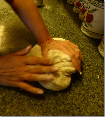 Kneading process - Guenette photo