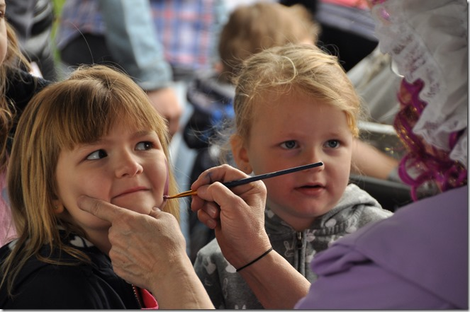 Easter facepainting - Bruce Witzel photo