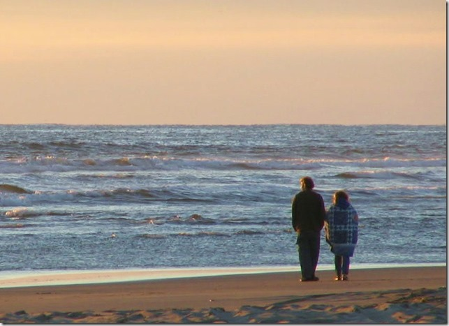 Couple on beach - Witzel photo