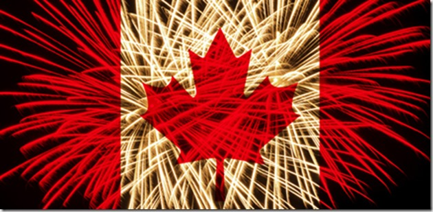 Canada day fireworks - google images