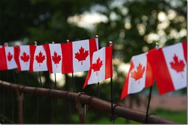 Canada day flags - google images