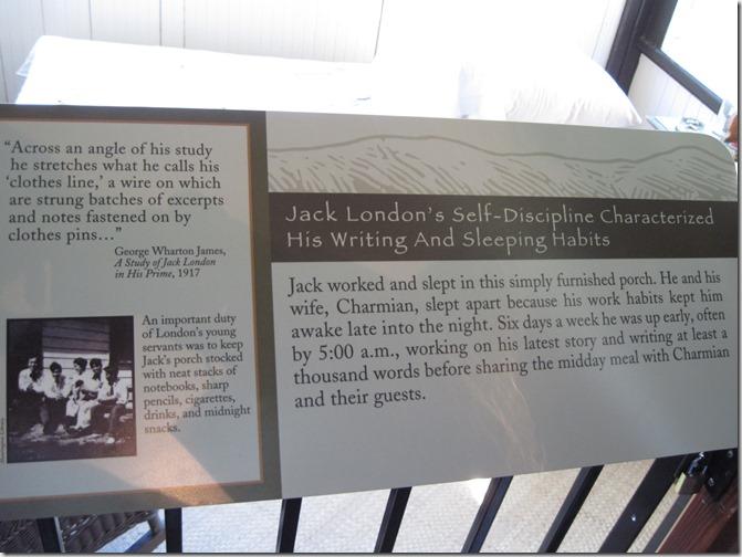 Jack London's sleeping porch - Guenette photo