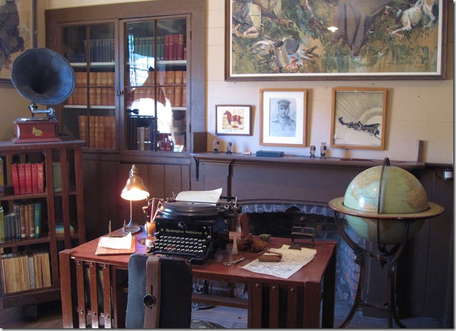 Jack London's writing room - Bruce Witzel photo