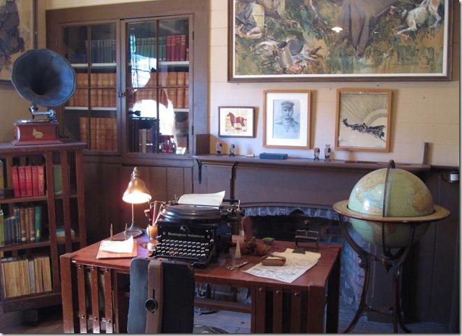 Jack London's writing room - Bruce Witzel photo