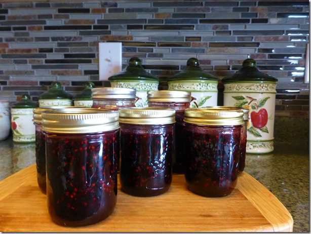 Blackberry jam - Guenette photo