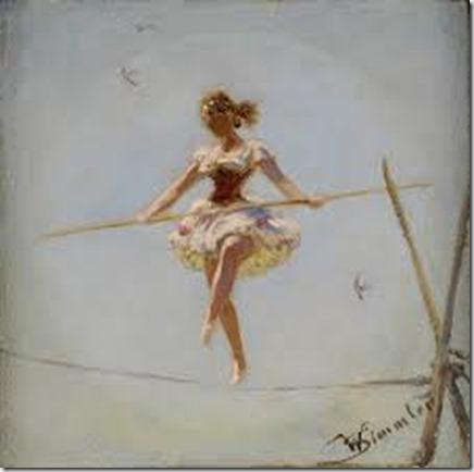 Tight rope walker - google images