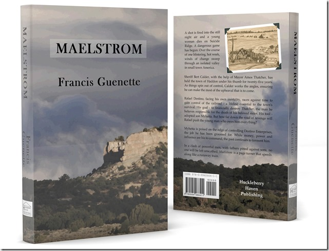 3-D cover of Maelstrom 2
