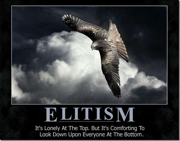 Elitist-Eagle-Demotivator - Goggle image