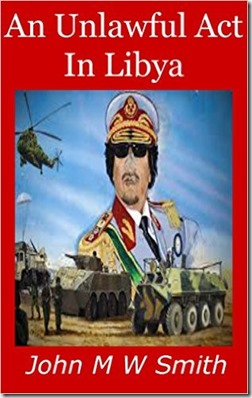 An Unlawful Act in Libya cover