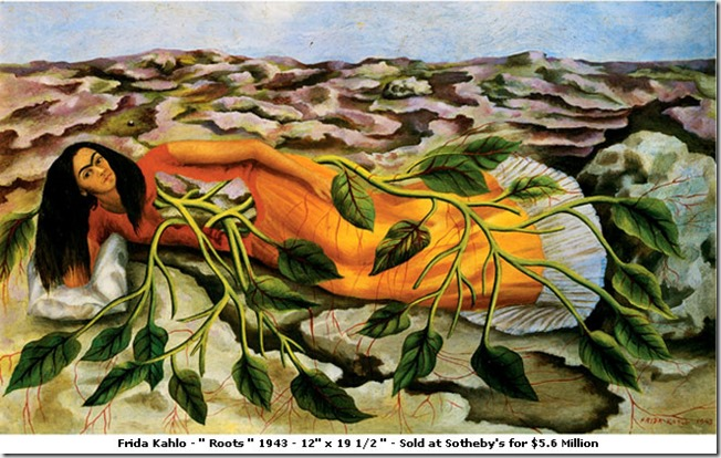 Frida Kahlo - roots - google image