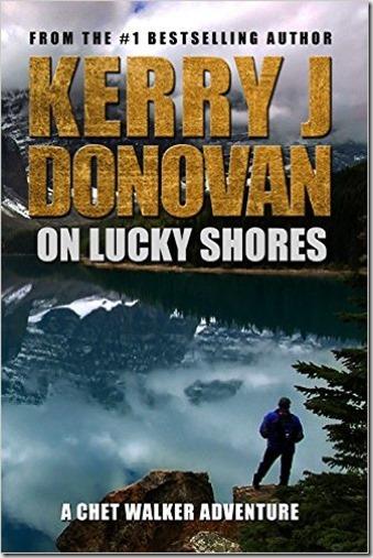 On Lucky Shores - Cover