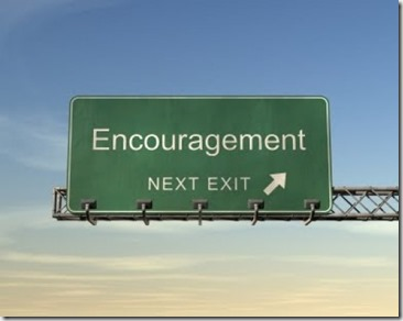 Encouragement sign - Google image