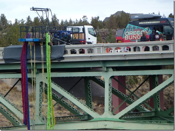 Bungee Jumping at Crooked River