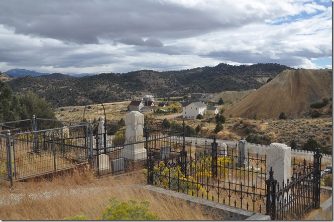 Silver Terrace Cemetery - Virginia City, Nevada