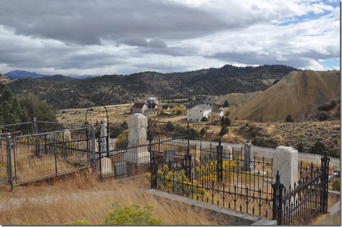 Silver Terrace Cemetery - Virginia City, Nevada