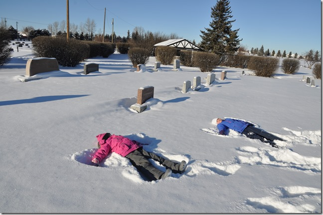 A couple of snow angels