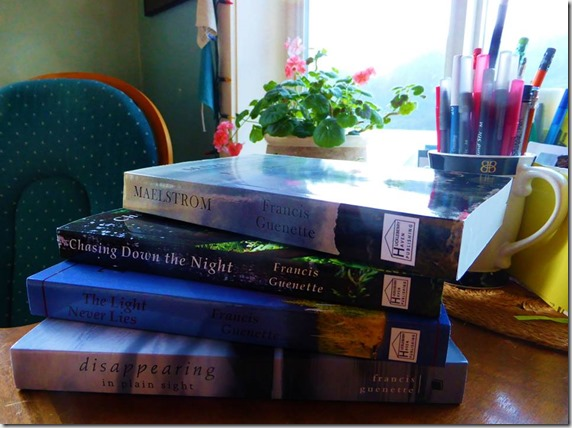 My books - Guenette photo