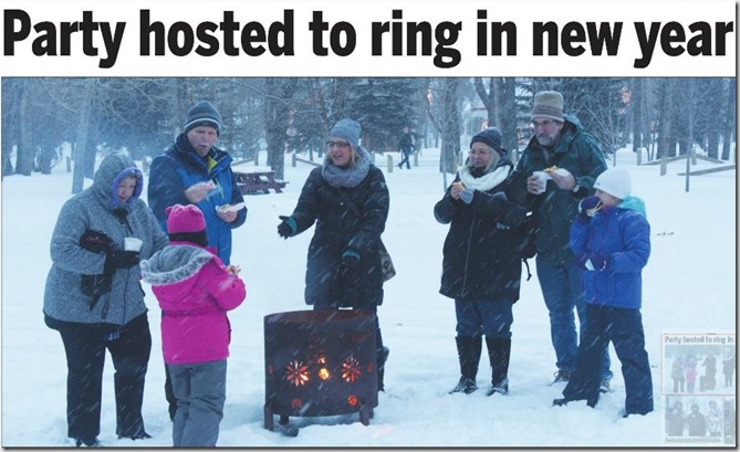 New Year's Eve in High River Times