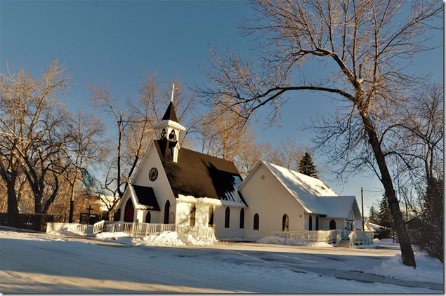 Saint Benidict's Anglican Church (2), High River Alberta, Jan. 04, 2017 - bruce wtizel photo