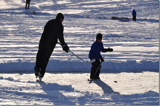 Winter skate - Bruce Witzel photo