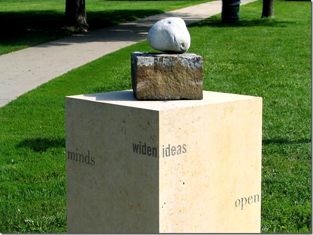 Mind statue - Bruce Witzel photo