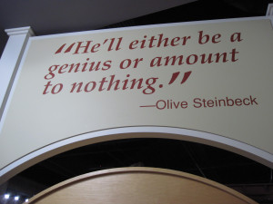 Taken at the National Steinbeck Center in Salinas, California