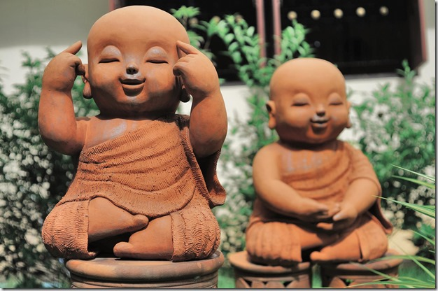 Happy young buddhas - google images