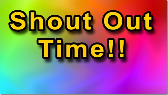 Shout out Time - google image