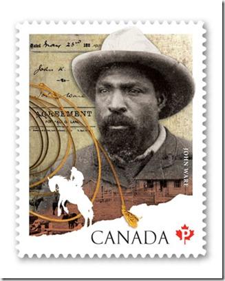 John Ware stamp