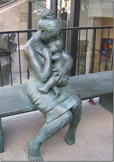 Statue in Montreal - photo by Bruce Witzel