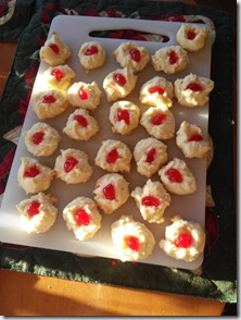 Holiday shortbread