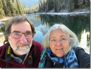 Me and Bruce at Emerald Lake