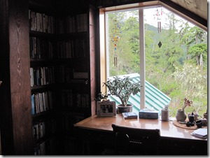 desk upstairs near big window