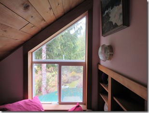 Rake window - uppermost loft